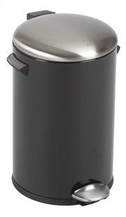 Eko poubelle à pédale Belle noir mat 12 l-Avant