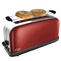 Russell Hobbs Grille-pain Colours Plus Long slot flame red