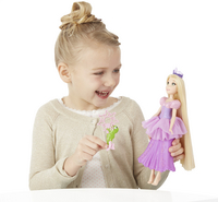 Poupée mannequin  Disney Princess Raiponce Bulles enchantées-Image 1