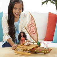 Set de jeu Disney Vaiana avec bateau-Image 2
