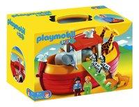 Playmobil 1.2.3 6765 Ark van Noah-Vooraanzicht
