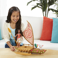 Set de jeu Disney Vaiana avec bateau-Image 4