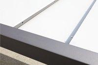 Jati & Kebon verlengbare tuintafel Livorno lichtgrijs/antraciet 220 x 106 cm-Afbeelding 2