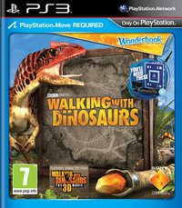 PS3 Wonderbook: Walking with Dinosaurs ENG/FR-Vooraanzicht