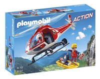 Playmobil Action 9127 Reddingswerkers met helikopter