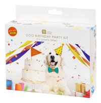 Party set Dog Birthday Party Kit-Rechterzijde