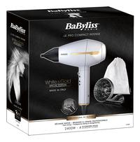 BaByliss Sèche-cheveux Premium White 6735E-Côté gauche