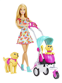 Barbie speelset Hondenwandeling-commercieel beeld