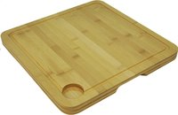 Point-Virgule planche à découper en bambou 35 x 35 cm