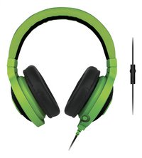 Razer casque-micro Kraken Pro eSport Gaming vert-Avant