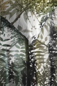 Ambiante Housse de couette Jayda green coton 200 x 220 cm-Détail de l'article