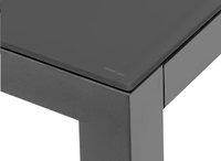 Table de jardin Danli avec verre gris foncé/anthracite L 220 x Lg 100 cm-Détail de l'article