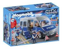 Playmobil City Action 9236 Politie interventiewagen met wegversperring