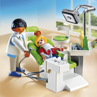 Playmobil City Life 6662 Cabinet de dentiste-Image 1