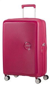 American Tourister Valise rigide Soundbox Spinner EXP lightning pink 67 cm-Côté gauche