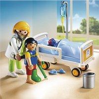 Playmobil City Life 6661 Chambre d'enfant avec médecin-Image 1
