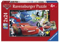 Ravensburger puzzle 2 en 1 Cars - Course folle