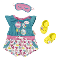 BABY born Kledijset korte pyjama met schoentjes-Vooraanzicht