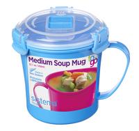 Sistema Soepbeker Microwave Colour Medium Soup 656 ml-Vooraanzicht