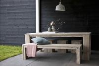 Dutchwood banc de jardin brun L 120 x Lg 40 cm-Image 2