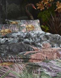Essenza Dekbedovertrek Igone green katoensatijn 240 x 220 cm-Afbeelding 2