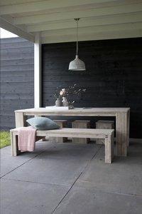 Dutchwood banc de jardin brun L 120 x Lg 40 cm-Image 3