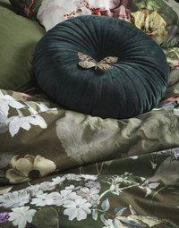 Essenza Dekbedovertrek Fleurel brushed katoen olive 240 x 220 cm-Afbeelding 2
