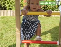 Jungle Gym tour de jeu en bois Club avec toboggan bleu-Image 3