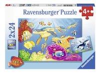 Ravensburger puzzel 2-in-1 Kleurrijke onderwaterwereld-Vooraanzicht