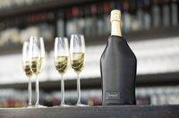 Screwpull Wijn- en champagnekoeler zwart-Afbeelding 1