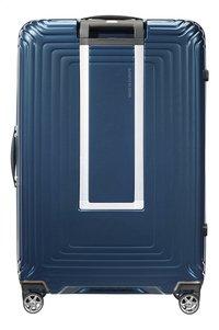 Samsonite Valise rigide Neopulse Spinner metallic blue 75 cm-Arrière