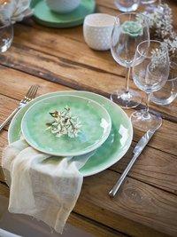 Cosy & Trendy 3 platte borden Spirit Green Ø 27 cm-Afbeelding 2