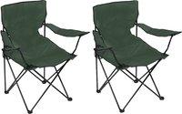 Set de 2 fauteuils de camping Bahia vert