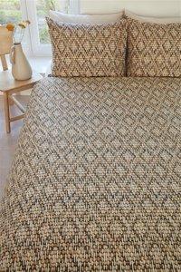 Beddinghouse Dekbedovertrek Willow sand katoen-Afbeelding 1