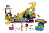 LEGO Friends 41374 Andrea's zwembadfeest-Vooraanzicht