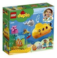 LEGO DUPLO 10910 L'aventure en sous-marin-Arrière
