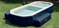 Intex jacuzzi Bubble Jets + piscine