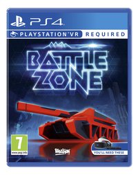 PS4 Battlezone VR ENG/FR