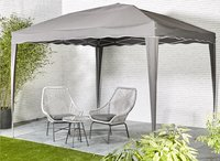 Tonnelle pliante Easy Up 3 x 3 m anthracite-Image 1