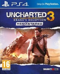 PS4 Uncharted 3 : Drake's Deception Remastered FR/ANG