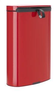 Brabantia Poubelle FlatBack+ passion red 40 l-Arrière