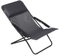 Lafuma ligstoel Transabed XL Plus obsidian-Vooraanzicht