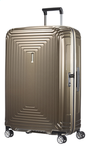 Samsonite Harde reistrolley Neopulse Spinner metallic sand 75 cm