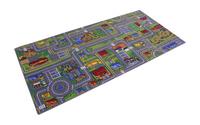 DreamLand verkeerstapijt Play City 95 x 200 cm-Linkerzijde
