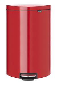 Brabantia Afvalemmer FlatBack+ passion red 40 l