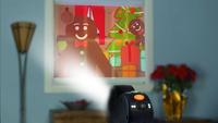 Projecteur Star Shower Window Wonderland-commercieel beeld