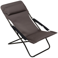 Lafuma ligstoel Transabed XL Plus Air Comfort taupe-Vooraanzicht