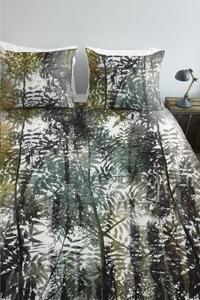 Ambiante Housse de couette Jayda green coton 200 x 220 cm-commercieel beeld