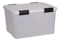 Iris boîte de rangement Weather Box transparent 44 l-Avant