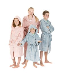 Tiseco Home Studio Robe de chambre Kids soft blue 9-10 ans-Image 2